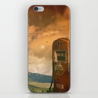 old fuel pump iPhone & iPod Skin