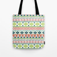 Aztec Stripe Tote Bag