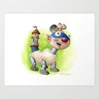 Billymobile Art Print