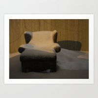 A Nice Chair To Sit In O… Art Print