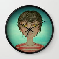 A boy Wall Clock