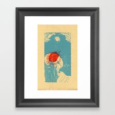 La Ola Framed Art Print