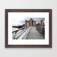 The River Tyne Framed Art Print