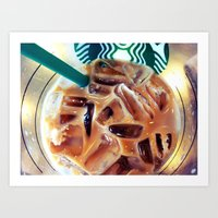 The Usual, Please Art Print
