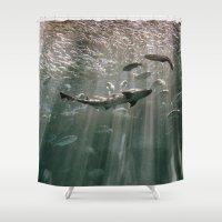 Deep Secret Shower Curtain