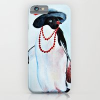 penguin iPhone & iPod Cases featuring Penguin by Anna Shell