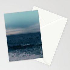 Blue California Ocean Stationery Cards