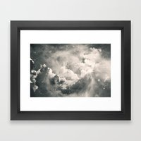 Find Me Among the Stars Framed Art Print