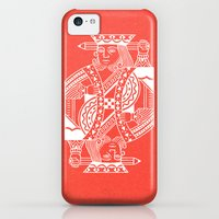 iPhone 5c Cases featuring Creativity Is King by Chase Kunz