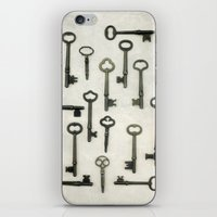 The Key Collection iPhone & iPod Skin