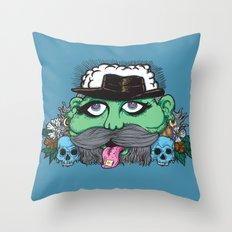 Eco Psyco Throw Pillow