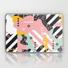 Spliced Geometric Memphi… Laptop & iPad Skin