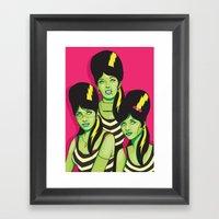 Frankettes Framed Art Print