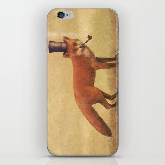 Crazy Like a Fox  iPhone & iPod Skin