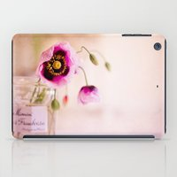 Pink Poppies iPad Case