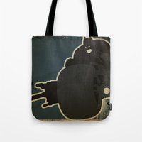 The Dark Knight: Batpod Tote Bag