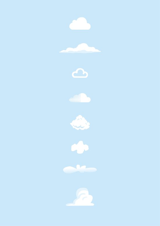 Famous Clouds Art Print