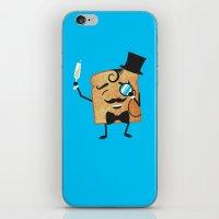 Sir Toast Makes A Toast iPhone & iPod Skin