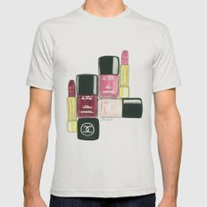 Beauty Shot Mens Fitted Tee Silver SMALL