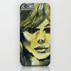 THE YELLOW QUICK PORTRAIT iPhone 6 Slim Case