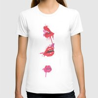 lips T-shirts featuring lips by jgart