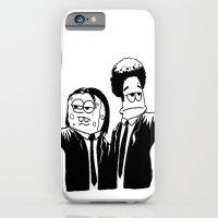 Pulp Fiction ( Patrick and Spongebob)  iPhone 6 Slim Case