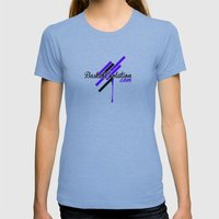 Freestyle Design Staz Womens Fitted Tee Athletic Blue SMALL