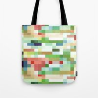 Tote Bag featuring Spectrum Number 2 by Tina Carroll