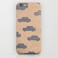 car iPhone & iPod Cases featuring Car by sinonelineman