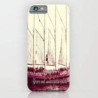 iPhone & iPod Case featuring Never sail under false colors by Maite