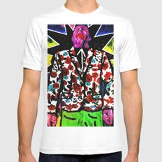 Domesticos (The Gardener) SMALL Mens Fitted Tee White