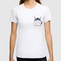 imPortable Stitch... Womens Fitted Tee Ash Grey SMALL
