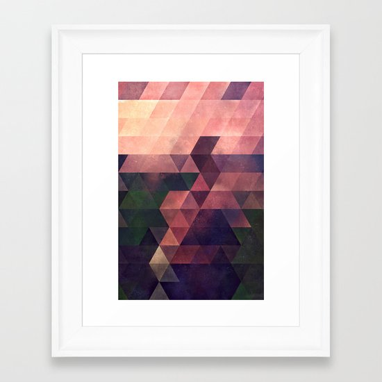 fyt yrms Framed Art Print
