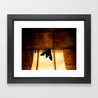 Drawn to the Light Framed Art Print