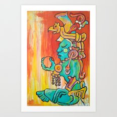 Xamen Ek Art Print