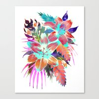 Hana Flower Canvas Print