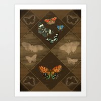 Fluttering Beauty Art Print