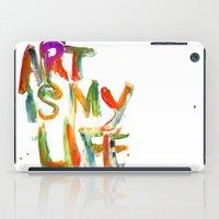 Art is my life iPad Case