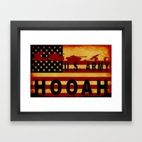 HOOAH - 023 Framed Art Print