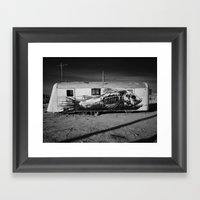 The Salton Masterpiece. Framed Art Print