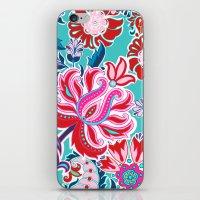 Bohemian Floral Paisley … iPhone & iPod Skin