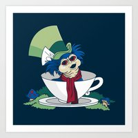 A Nice Cup Of Tea Art Print