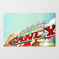 Carnival Candy Canvas Print