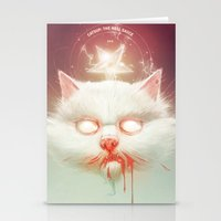 The Hell Kitty Stationery Cards
