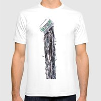 Leakage Mens Fitted Tee White SMALL