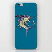 Jumping Marlin iPhone & iPod Skin