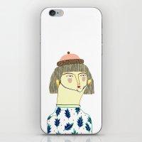 Women. fashion, fashion illustration, fashion print, fashion art, pattern, people,  iPhone & iPod Skin
