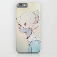 iPhone & iPod Case featuring Portrait E by Zina Nedelcheva