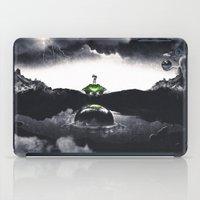 The Landing A Zebes Surrealism iPad Case