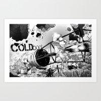 COLDboot Art Print